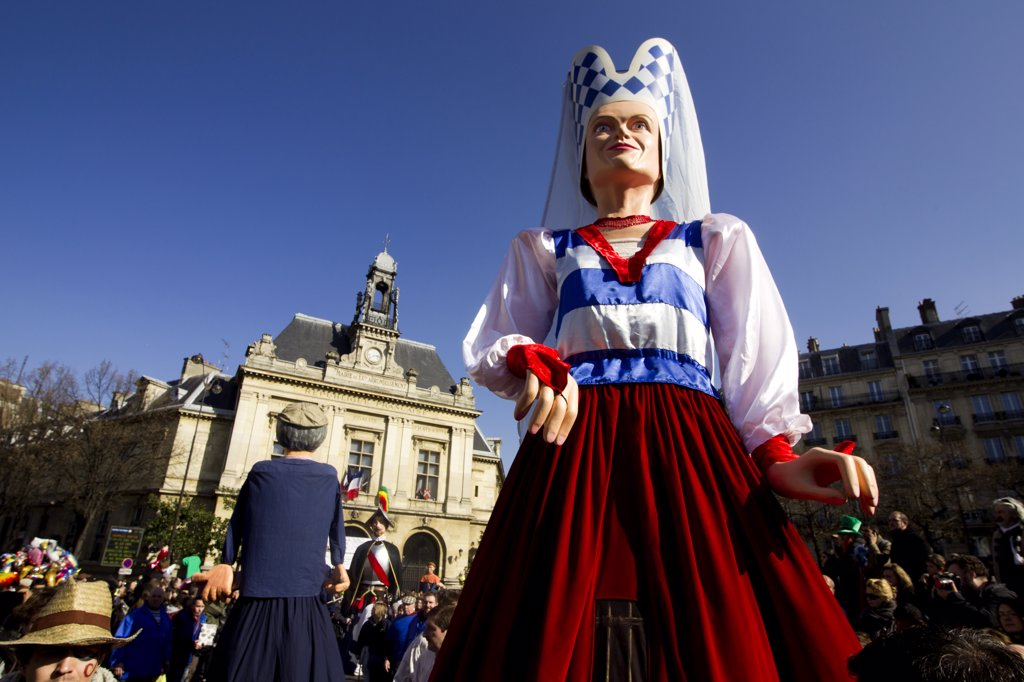 Stock Photo: 1606-139430 France, Paris carnival