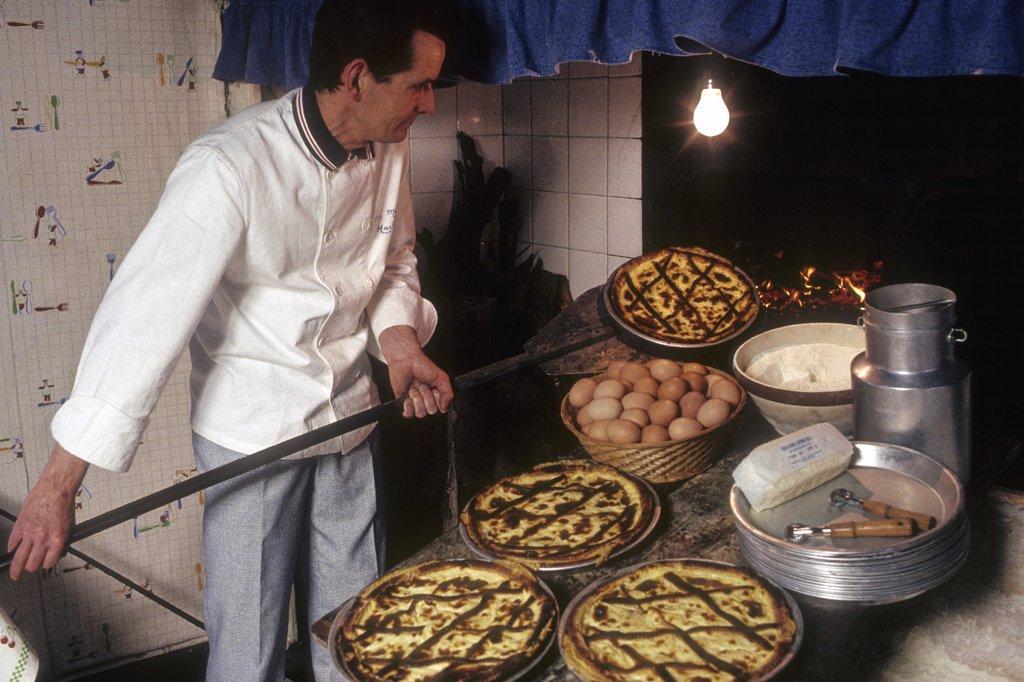 Stock Photo: 1606-139692 France, Nord Pas-de-Calais, Pas-de-Calais (62), Wirwignes, Memere Harlé restaurant
