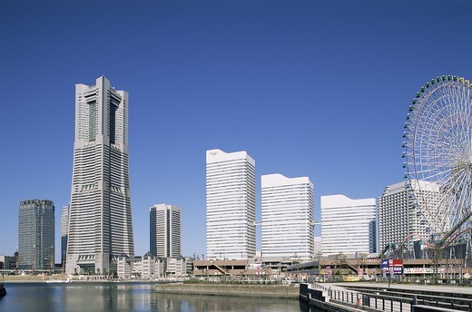 Stock Photo: 1606-141176 Japan,Yokohama,Minato Mirai District,Landmark Tower