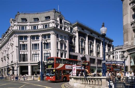 Stock Photo: 1606-142359 England,London,Oxford Circus