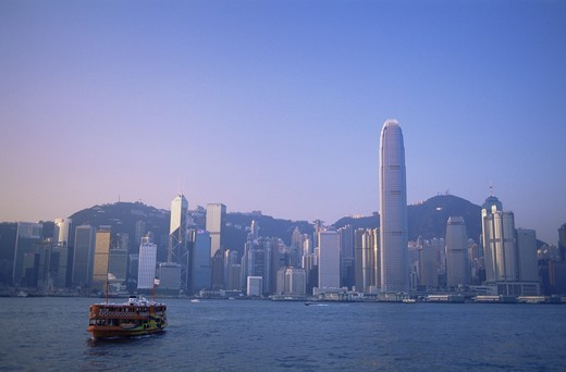 Stock Photo: 1606-143043 China,Hong Kong,City Skyline