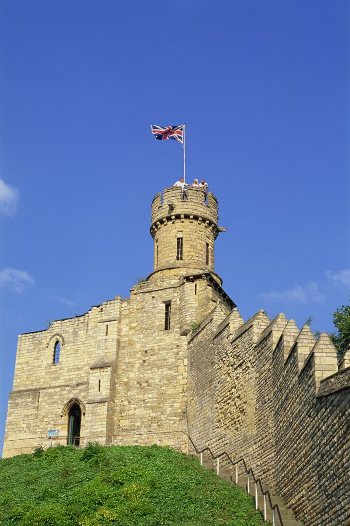 England,Lincolnshire,Lincoln,Lincoln Castle : Stock Photo