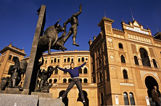 Spain, España, Comunidad de Madrid , Madrid, La Plaza de los Toros de Las Ventas : Stock Photo