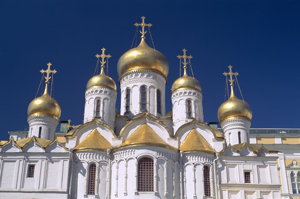 Russia, Moscow, Kremlin / Annunciation Cathedral : Stock Photo