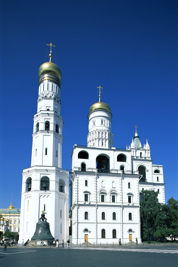 Russia, Moscow, Kremlin / Ivan The Great Bell Tower : Stock Photo