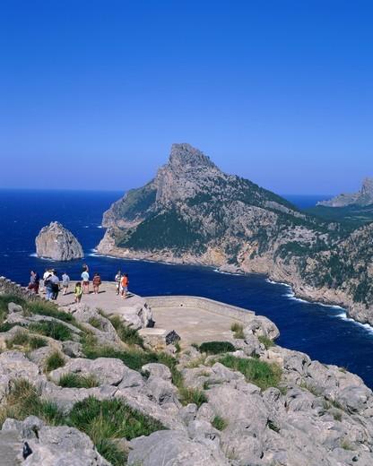 Spain, Balearic Islands / Mallorca, Cabo de Formentor : Stock Photo