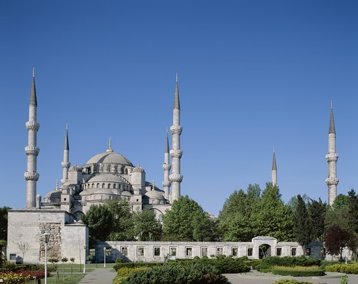 Stock Photo: 1606-149296 Turkey, Istanbul, Blue Mosque