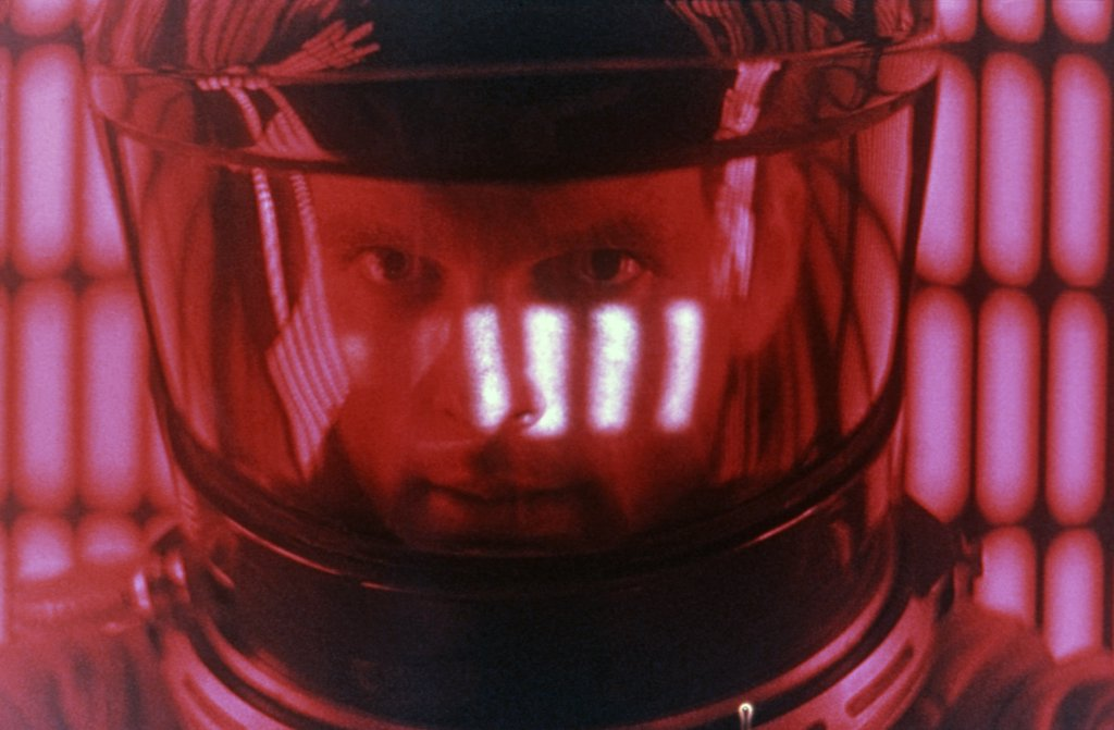 Keir Dullea / 2001 A Space Odyssey 1968 directed by Stanley Kubrick : Stock Photo