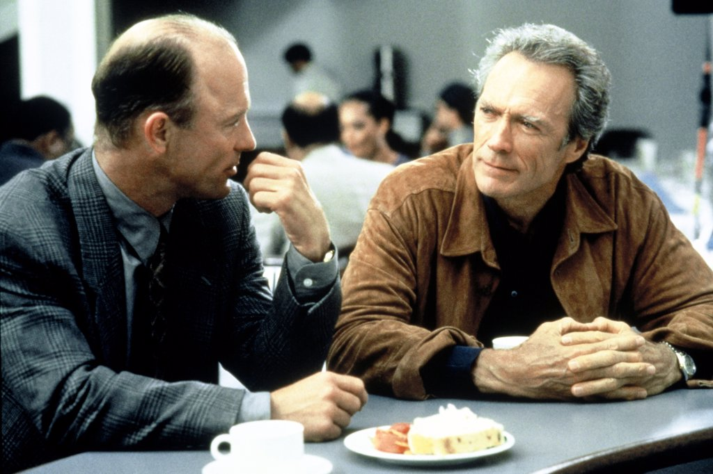 Stock Photo: 1606-150521 Ed Harris, Clint Eastwood / Absolute Power 1997 directed by Clint Eastwood