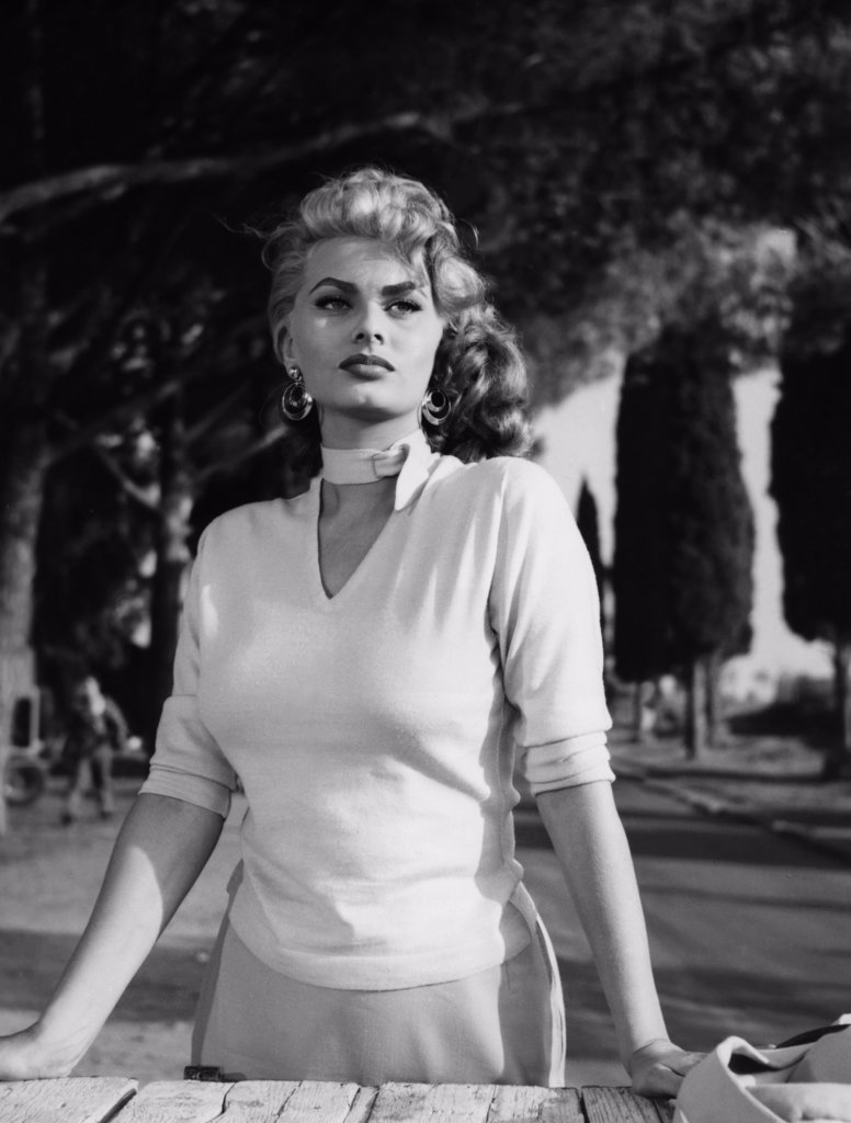 Stock Photo: 1606-151365 Sophia Loren / Too Bad She's Bad 1954 directed by Alessandro Blasetti