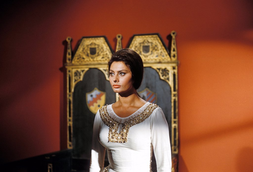 Stock Photo: 1606-151429 Sophia Loren / El Cid 1961 directed by Anthony Mann