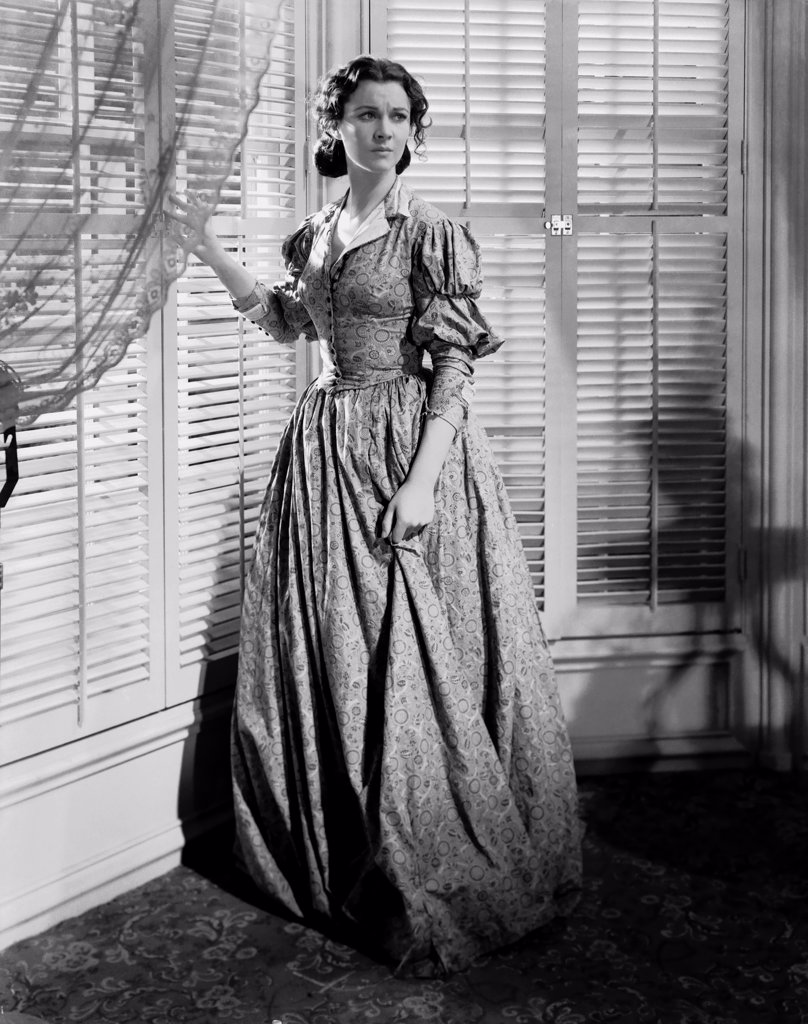 Vivien Leigh / Gone with the Wind 1939 directed by Victor Fleming : Stock Photo