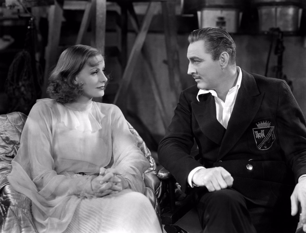 Stock Photo: 1606-151613 Greta Garbo, John Barrymore / Grand Hotel 1932 directed by Edmund Goulding