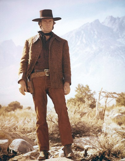 Clint Eastwood / Joe Kidd 1972 directed by John Sturges : Stock Photo