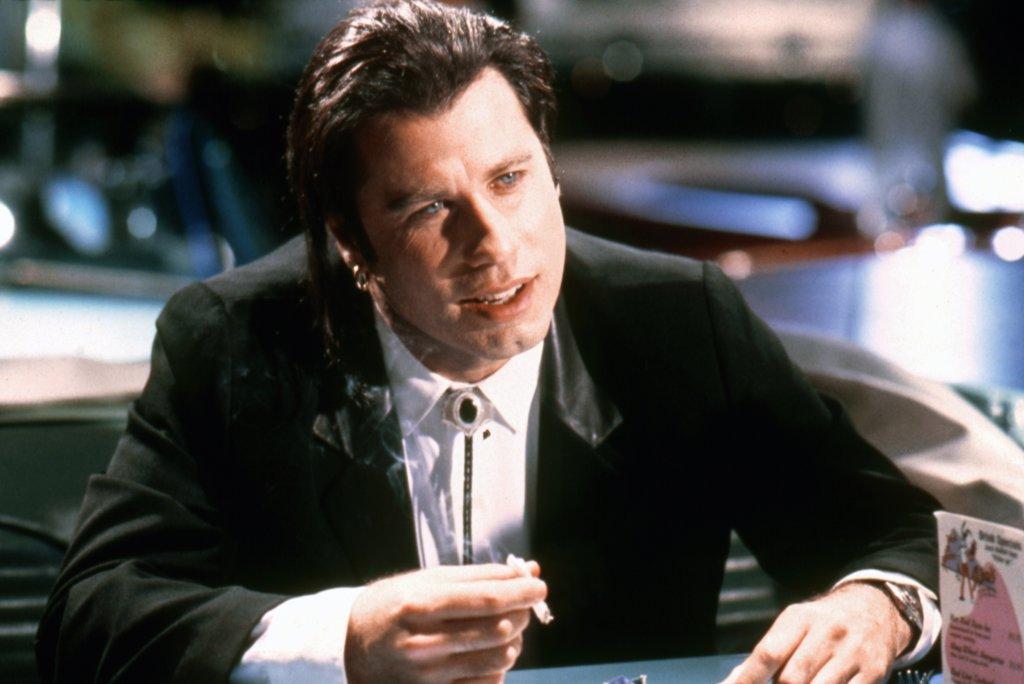 Stock Photo: 1606-152215 John Travolta / Pulp Fiction 1994 directed by Quentin Tarantino