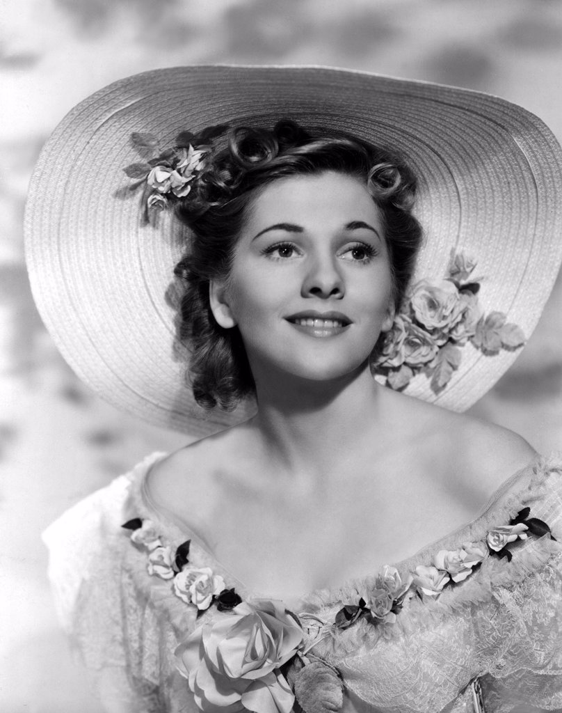 Joan Fontaine / Rebecca 1940 directed by Alfred Hitchcock : Stock Photo