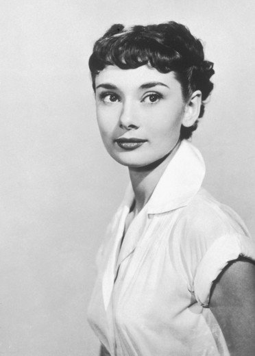Audrey Hepburn / Roman Holiday 1953 directed by William Wyler : Stock Photo
