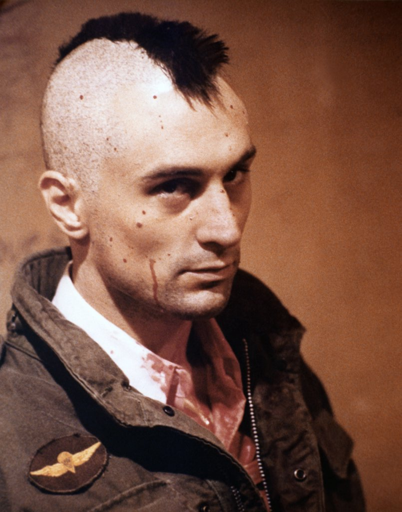 Stock Photo: 1606-152668 Robert de Niro / Taxi Driver 1976 directed by Martin Scorsese