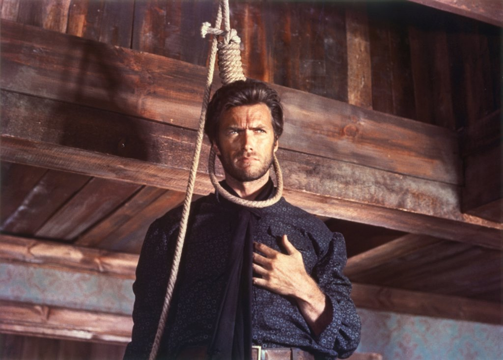 Clint Eastwood / The Good, The Bad And The Ugly 1966 directed by Sergio Leone : Stock Photo