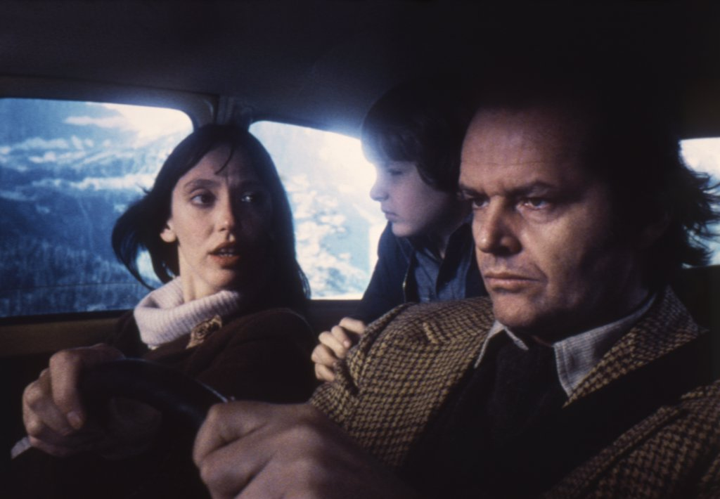 Stock Photo: 1606-153077 Shelley Duvall, Danny Llyod, Jack Nicholson / Shining 1980 directed by Stanley Kubrick
