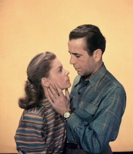 Lauren Bacall and Humphrey Bogart : Stock Photo