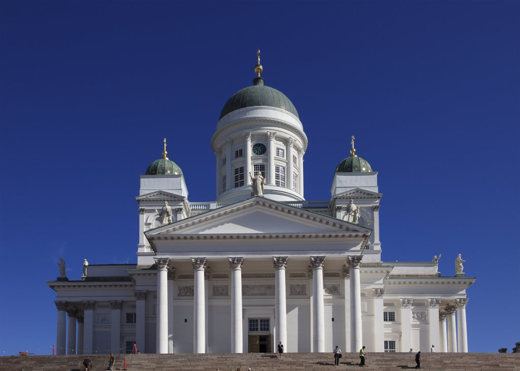Stock Photo: 1606-154054 Finland, Helsinki, Lutheran Cathedral,