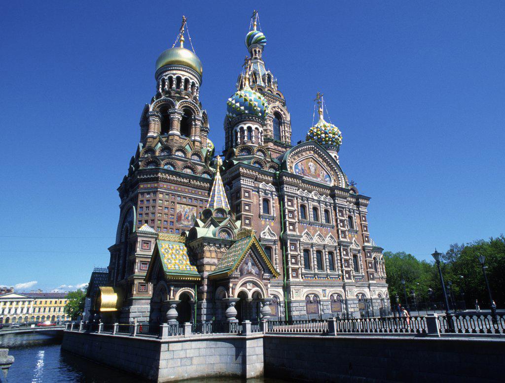 Stock Photo: 1606-155618 Russia, St Petersburg, Resurrection Church,