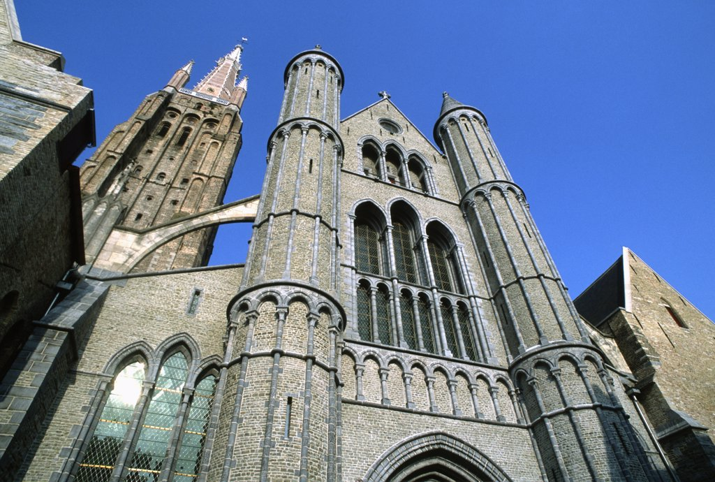 Stock Photo: 1606-155661 Belgium, Bruges, Church of Our Lady,