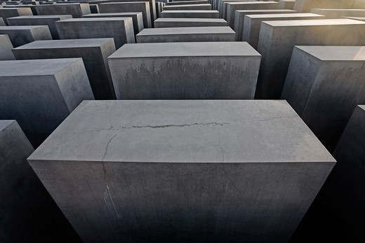 Berlin, Holocaust Memorial : Stock Photo