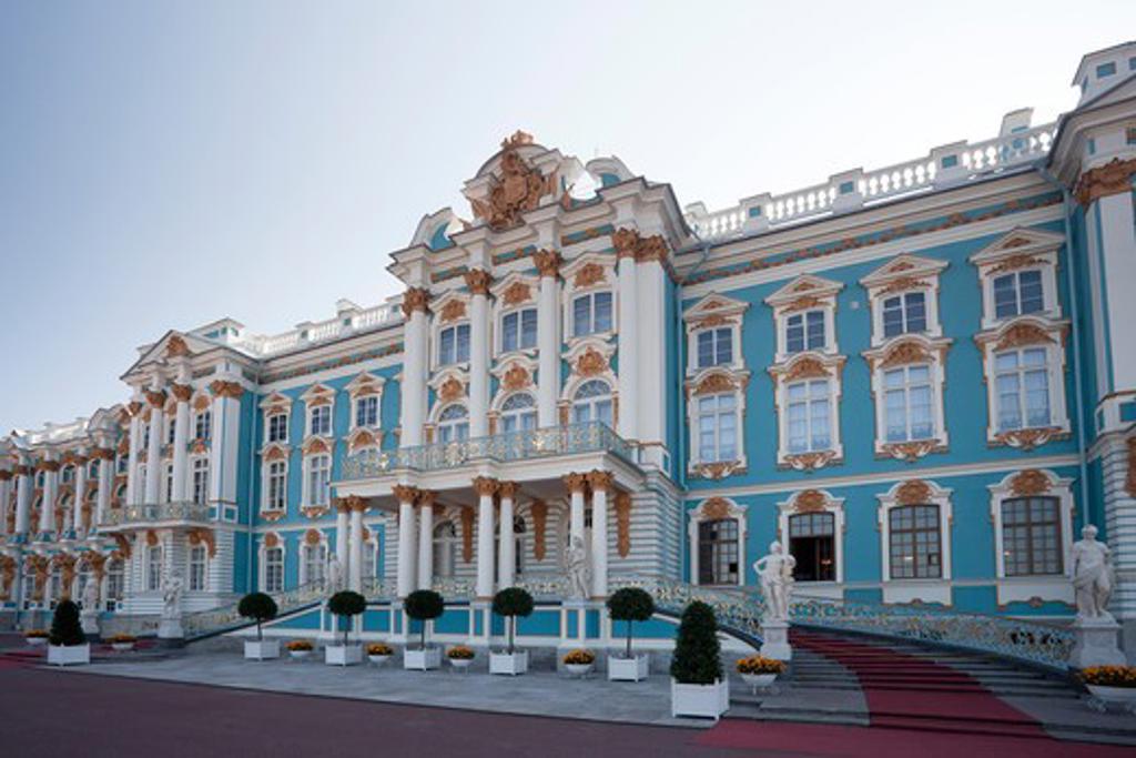 Stock Photo: 1606-156817 Rusia ,Near San Petersburg City ,Pushkin City, Catherina Palace,