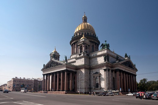 Rusia , San Petersburg City , San Isaac«s Cathedral : Stock Photo