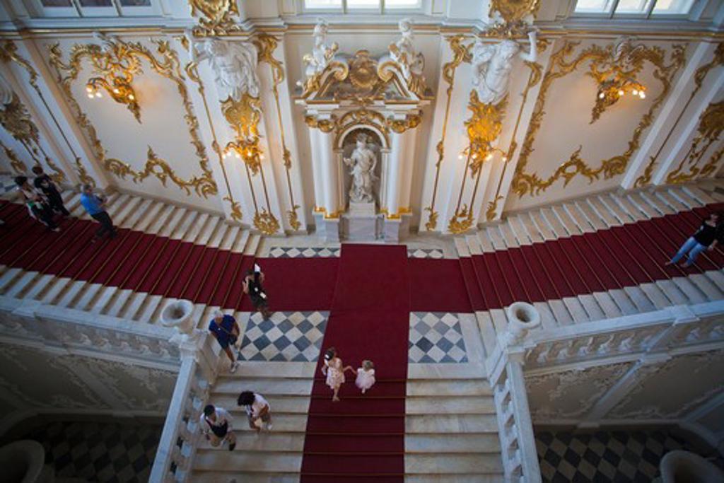 Stock Photo: 1606-156837 Rusia , San Petersburg City, The Winter Palace Bldg. (Hermitage) , Interior
