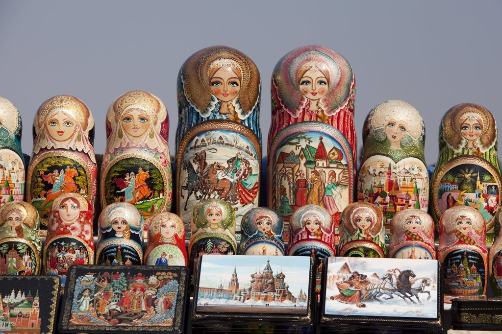 Rusia, Moscow City , Matrioshkas Shop : Stock Photo