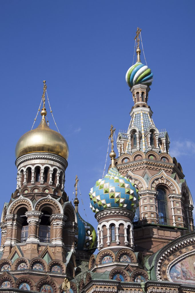Stock Photo: 1606-156956 Rusia , San Petersburg City, Church of the Savior on Spilled Blood