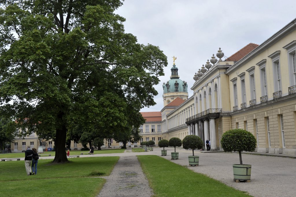 Stock Photo: 1606-157267 Europe, Germany, Berlin, Charlottenburg Palace