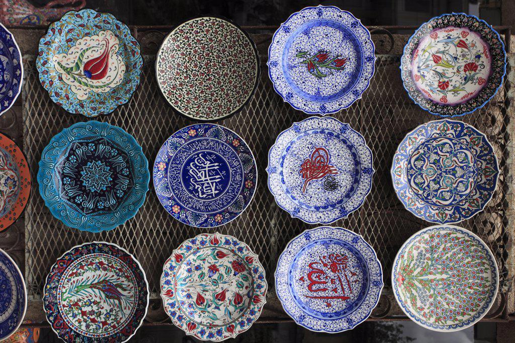 Turkey, Antalya, handicraft, ceramics, : Stock Photo