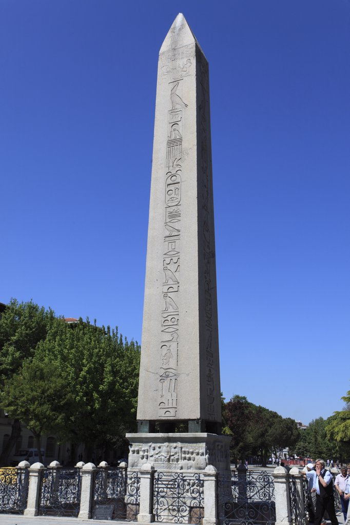 Stock Photo: 1606-158603 Turkey; Istanbul; Obelisk of Theodosius,