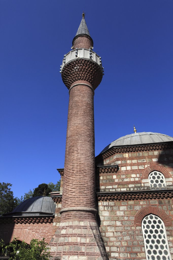 Turkey; Istanbul; Rustem Pasa Mosque, : Stock Photo