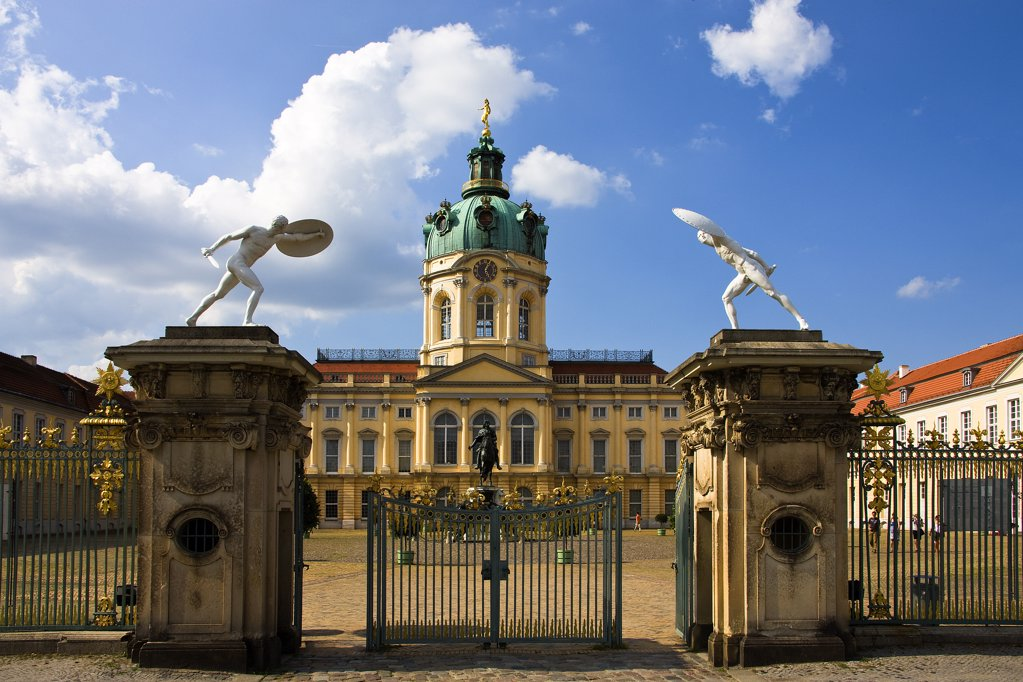 Germany , June 2009 Berlin City Charlottenburg Palace : Stock Photo