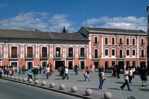 Stock Photo: 1606-160722 Ecuador, Quito, Plaza de la Merced,