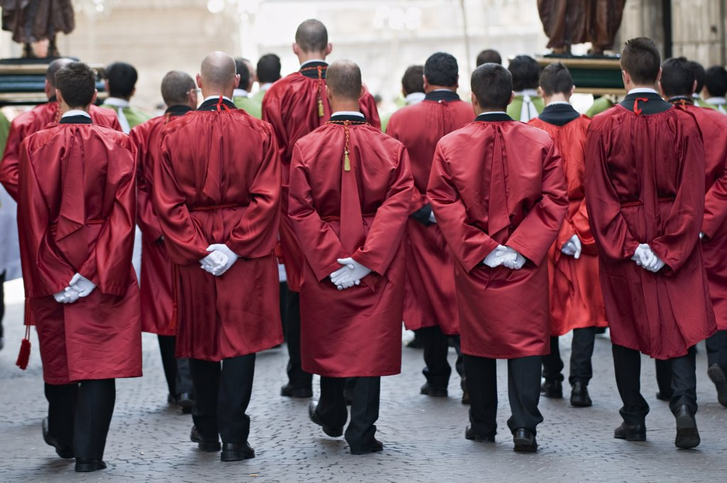 Stock Photo: 1606-161382 Sunday ;Holy Week;Sulmona;Abbruzzia;Italia