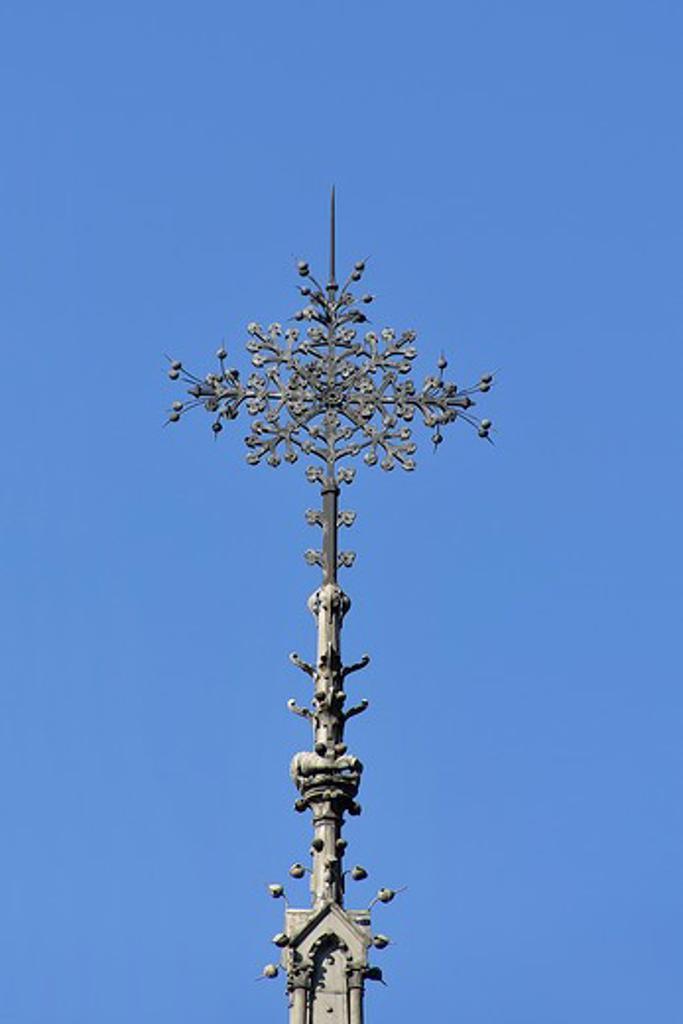 Stock Photo: 1606-162404 France, Ile-de-France, Capital, Paris, 4th, City center, Notre-Dame