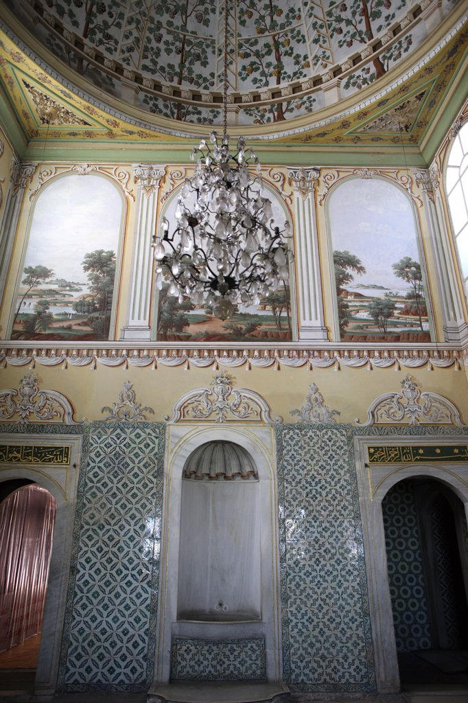 Topkapi palace. The harem. The queen mother's appartment . Istanbul. Turkey. (Istanbul, Marmara, Turquie) : Stock Photo