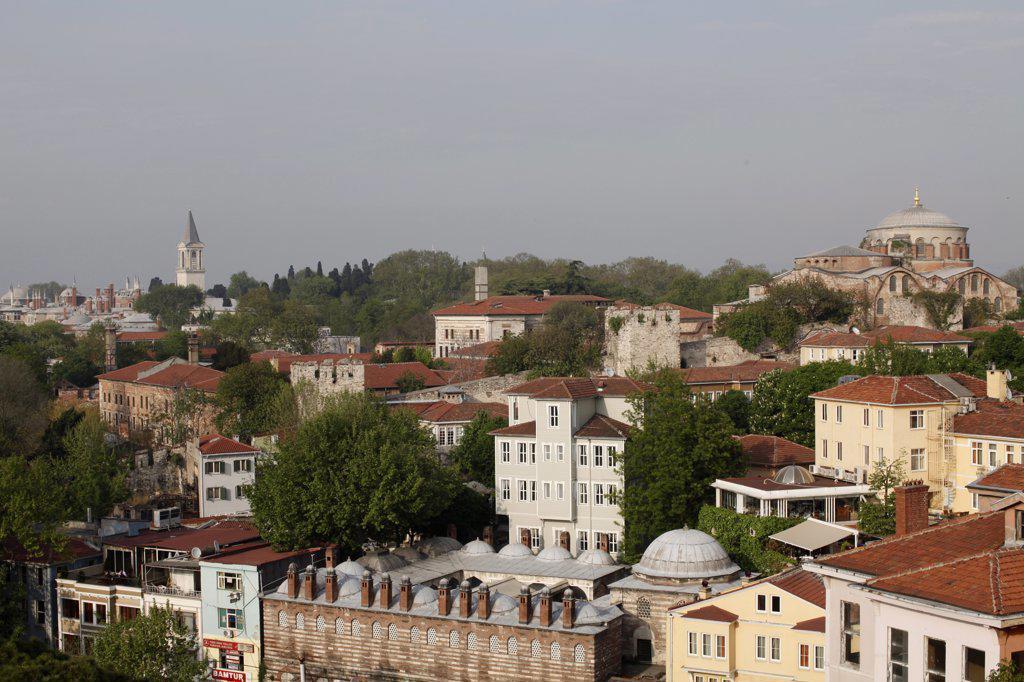 Sultanhamet . Istanbul. Turkey. (Istanbul, Marmara, Turquie) : Stock Photo
