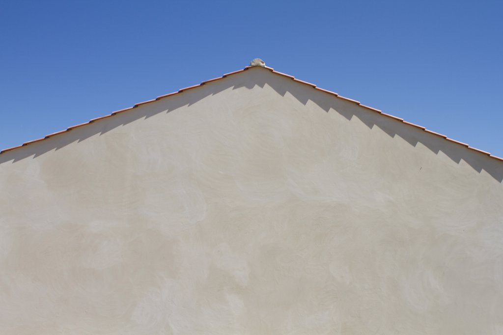 Stock Photo: 1606-163596 Gable of house