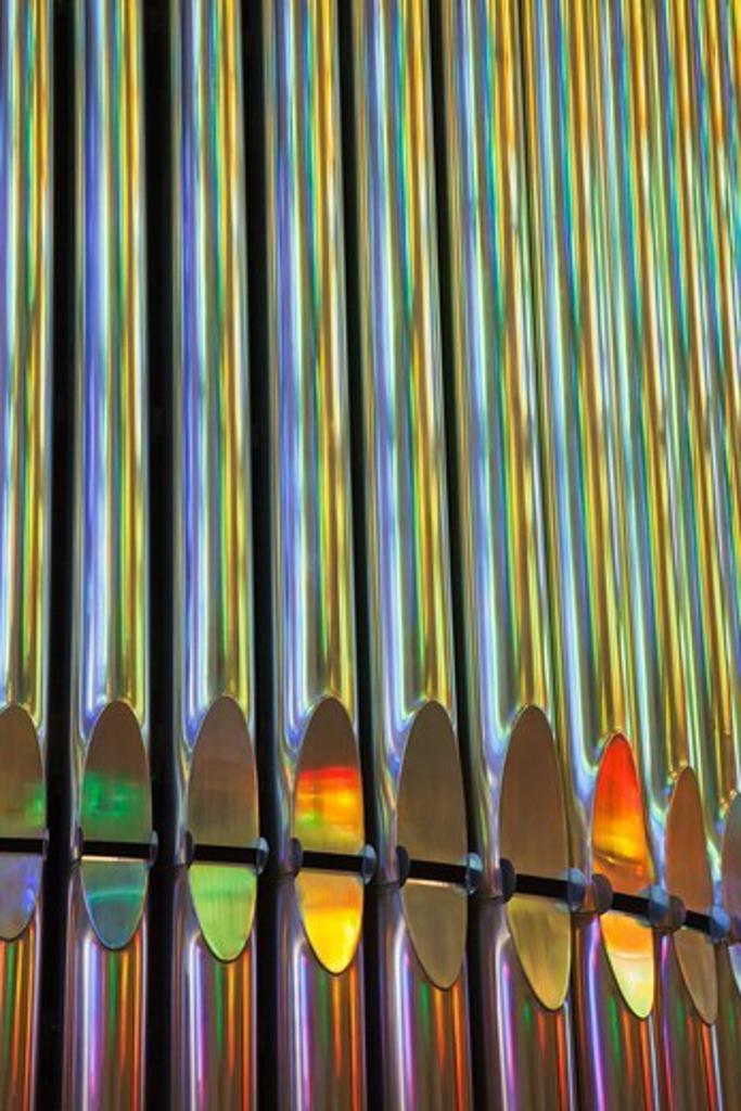 Stock Photo: 1606-165026 Spain,Barcelona,Sagrada Familia,Organ