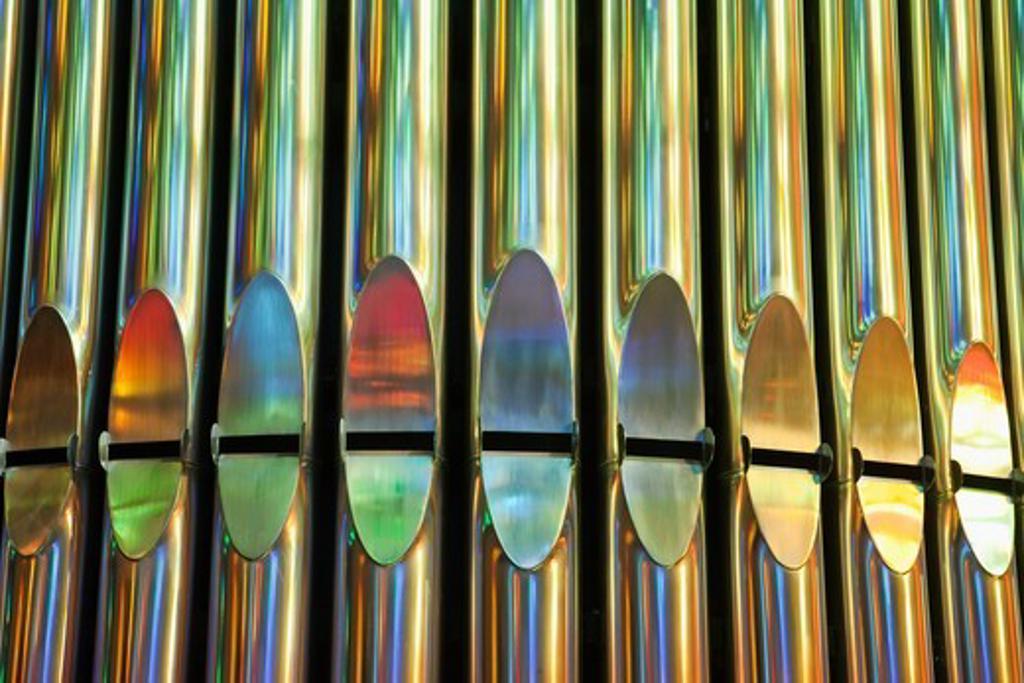 Stock Photo: 1606-165031 Spain,Barcelona,Sagrada Familia,Organ
