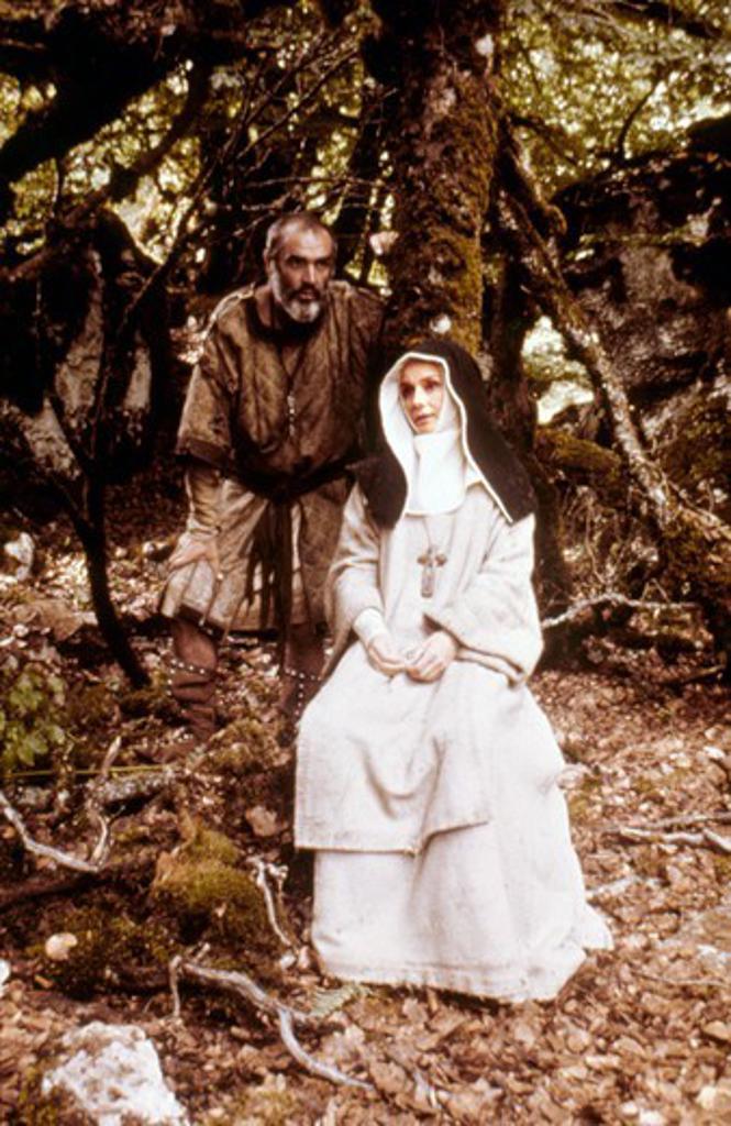 Sean Connery and Audrey Hepburn , Robin and Marian , 1976 réalisé par Richard Lester [Columbia Pictures] : Stock Photo
