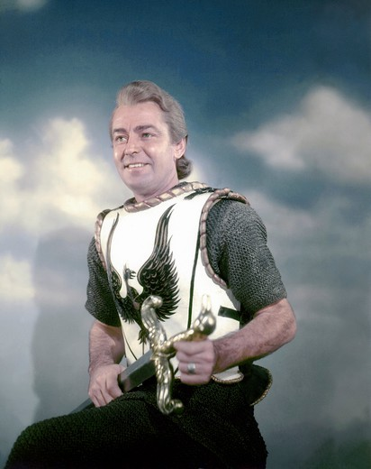 Stock Photo: 1606-166458 Alan Ladd , The Black Knight , 1954 directed by Tay Garnett [Columbia Pictures]