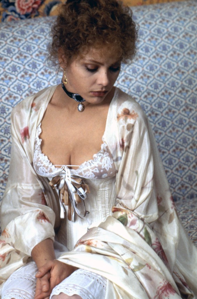 Stock Photo: 1606-166680 Ornella Muti , Swann in Love , 1984 directed by Volker Schlöndorff [Georges Pierre]